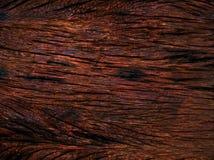 Donkere uitstekende houten textuur Stock Afbeelding