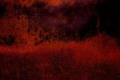 Donkere van het oud enge roestige ruwe gouden en de oppervlaktetextuur kopermetaal/achtergrond voor de spelenachtergrond van Hall Stock Foto