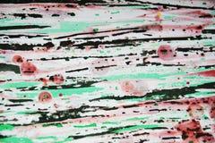 Donkere wasachtige druppelsverf De abstracte achtergrond van de waterverfverf Royalty-vrije Stock Afbeelding