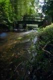 Donkere Wateren van de Stour-Rivier Royalty-vrije Stock Afbeelding