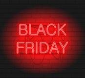 Donkere Webbanner voor zwarte Vrijdagverkoop stock afbeeldingen