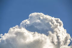 Donkere wolk Stock Fotografie
