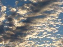 Donkere wolken Royalty-vrije Stock Foto's