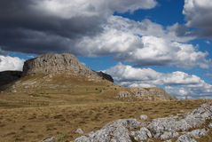 Donkere wolken 1 Royalty-vrije Stock Fotografie