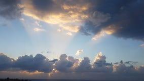 Donkere wolken Royalty-vrije Stock Fotografie