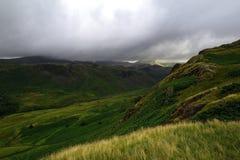 Donkere Wolken van de Scafell-waaier Royalty-vrije Stock Foto's