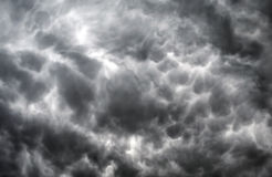 Donkere wolkenachtergrond Royalty-vrije Stock Foto's