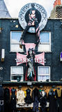 Donkere Zij Gotische Winkel in Londen Royalty-vrije Stock Foto
