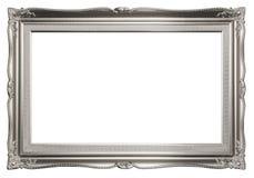 Donkere Zilveren Elegante Omlijsting Stock Fotografie