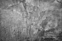 De donkergrijze muur van het grungecement Royalty-vrije Stock Afbeeldingen