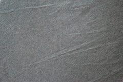 Donkergrijze natuurlijke stoffentextuur voor de achtergrond Royalty-vrije Stock Foto