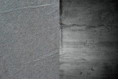 Donkergrijze natuurlijke stoffentextuur voor de achtergrond Stock Fotografie