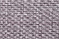 Donkergrijze textielachtergrond met geruit patroon, close-up Structuur van de stoffenmacro Royalty-vrije Stock Foto