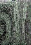 Donkergroen marmer als boomschors voor achtergrond Royalty-vrije Stock Afbeeldingen