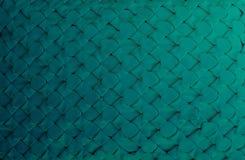 Donkergroen van stoffenpatroon met de hand gemaakt voor achtergrond Royalty-vrije Stock Fotografie