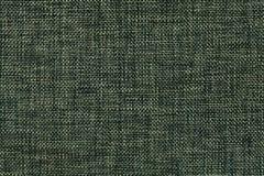 Donkergroene achtergrond van dichte geweven in zakken doende stof, close-up Structuur van de textielmacro Royalty-vrije Stock Afbeelding