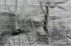 Donkergroene pvc-zaktextuur Royalty-vrije Stock Foto's