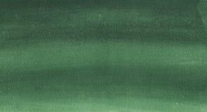 Donkergroene waterverftextuur Royalty-vrije Stock Afbeelding