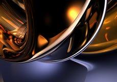 Donkeroranje achtergrond (samenvatting) 01 Royalty-vrije Stock Fotografie