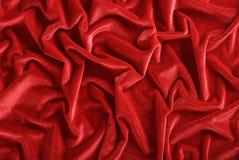 Donkerrode fluweelachtergrond Royalty-vrije Stock Afbeelding