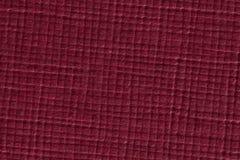 Donkerrode gecontroleerde document textuurachtergrond Stock Afbeelding