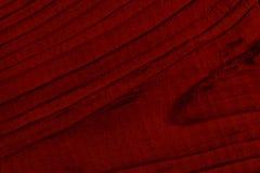 Donkerrode houten raad Royalty-vrije Stock Afbeelding