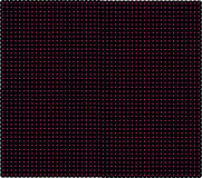 Donkerrood net met glanzende punten De laser netto met gloed snijdt op rode donkere achtergrond Naadloos patroon met rood neon Royalty-vrije Stock Afbeeldingen