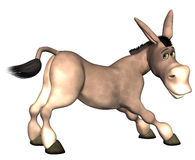Donkey Cartoon Stock Photo