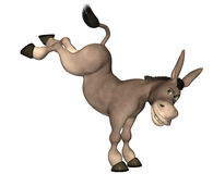 Donkey Cartoon Royalty Free Stock Photos