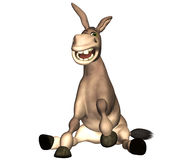 Donkey Cartoon Royalty Free Stock Photography