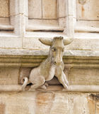 Donkey carved in Stone Royalty Free Stock Image