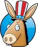 Donkey Democrat Royalty Free Stock Photography