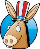 Donkey Democrat Royalty Free Stock Photography