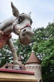 Donkey at Efteling stock image