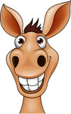 Donkey head vector illustration