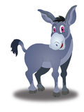 Donkey, illustration Stock Images