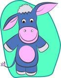 Donkey outline Stock Photography
