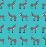 Donkey pattern Royalty Free Stock Photo