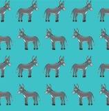 Donkey pattern Royalty Free Stock Photo