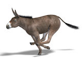 Donkey Render royalty free illustration