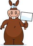 Donkey Sign Stock Image