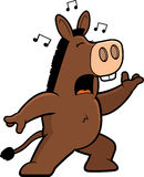 Donkey Singing Royalty Free Stock Images