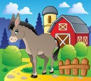 Donkey theme image 2 Stock Photography