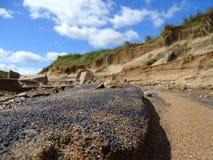 Donmouth lokal naturreserv som är norr Royaltyfri Fotografi
