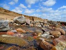 Donmouth lokal naturreserv som är norr fotografering för bildbyråer