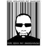 Données biométriques Photographie stock libre de droits