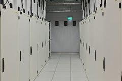 Données Hall Doors du centre de calculs Photos libres de droits