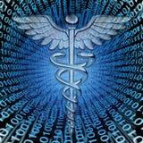 Données médicales Images stock