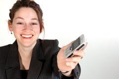 Donna 10 di affari Fotografie Stock Libere da Diritti