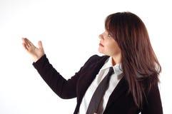 Donna #11 di affari Immagini Stock
